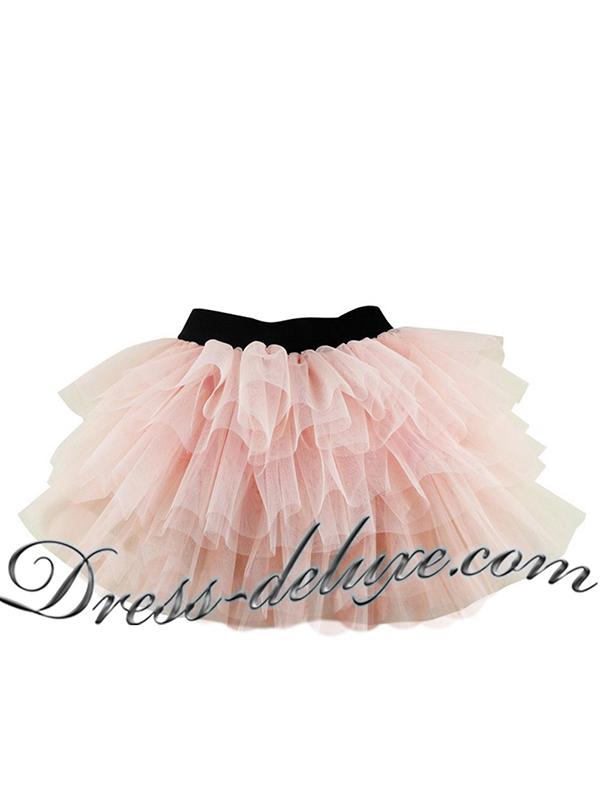 "Юбка-пачка. Цвет персиковый. - ""Dress Deluxe"""