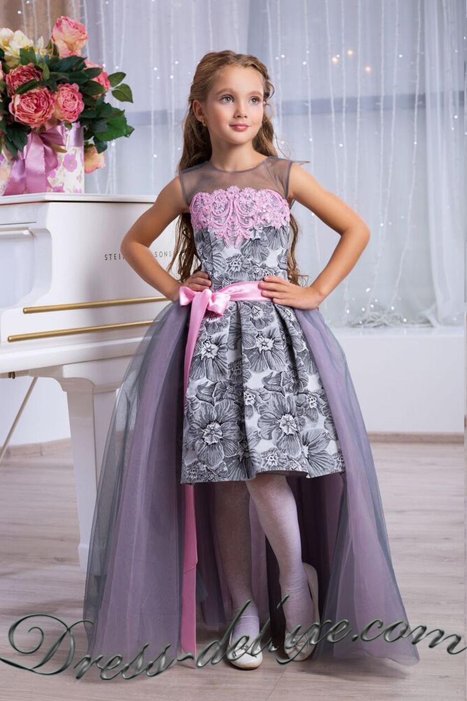Выпускные платья для 4 класса до 12 лет