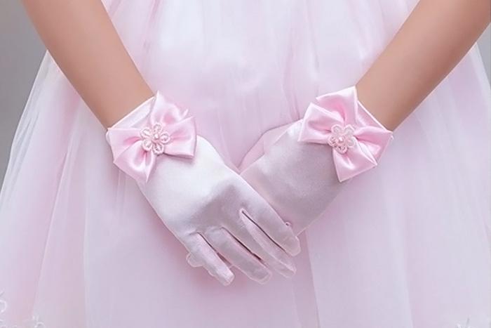 Перчатки для нарядного платья
