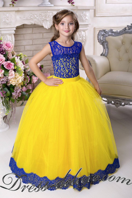Детские платья на выпускной 6-7 лет