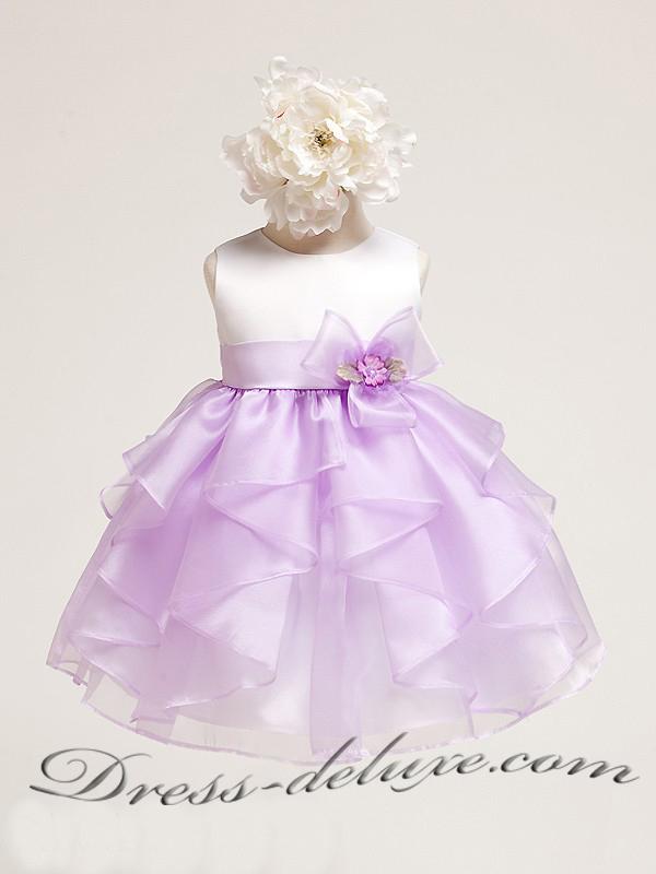 Нарядное платье для девочки своими руками 3 года