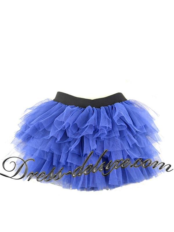 """Юбка-пачка. Цвет синий. - """"Dress Deluxe"""""""