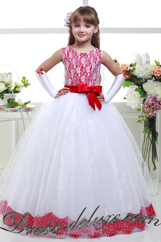 Детское нарядное платье на 6 лет