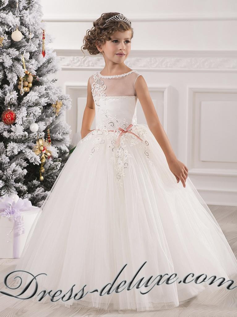 Шикарные платья для девочек фото