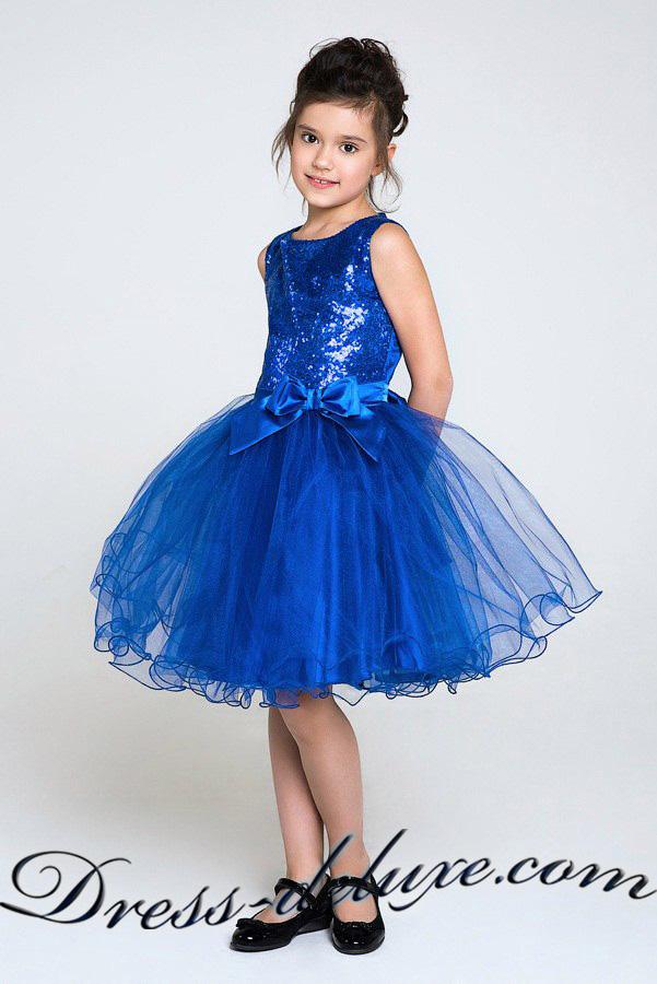 ed875f19ba03e8a Платье Каролина. Цвет синий.