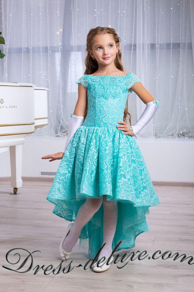 Бирюзовое Платье На Выпускной 4 Класс