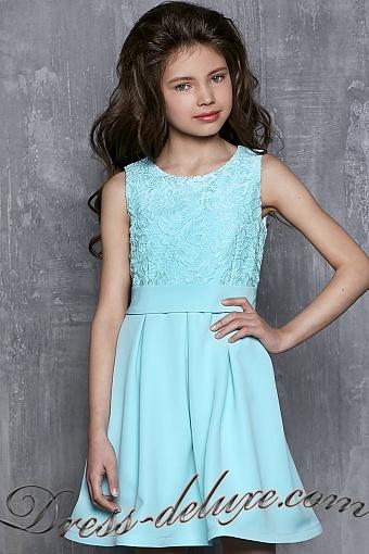 Коктейльное Платье Для Девочки 11 Лет