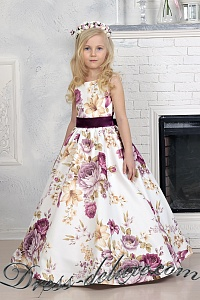 5d2e34b6f63b292 Нарядные платья для девочек 7-12 лет (от 128 см), на выпускной в 4 ...