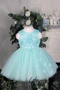 5b9c75757504611 Праздничные платья для девочек на 1, 2 года: пышные, красивые ...