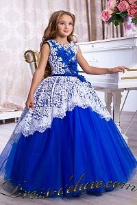 6b383743c3c1 Нарядные платья для девочек 7-12 лет (от 128 см), на выпускной в 4 ...